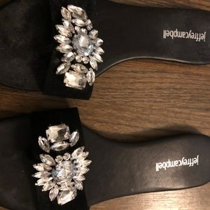 Jeffrey Campbell Easy Breezy Jeweled Sandals